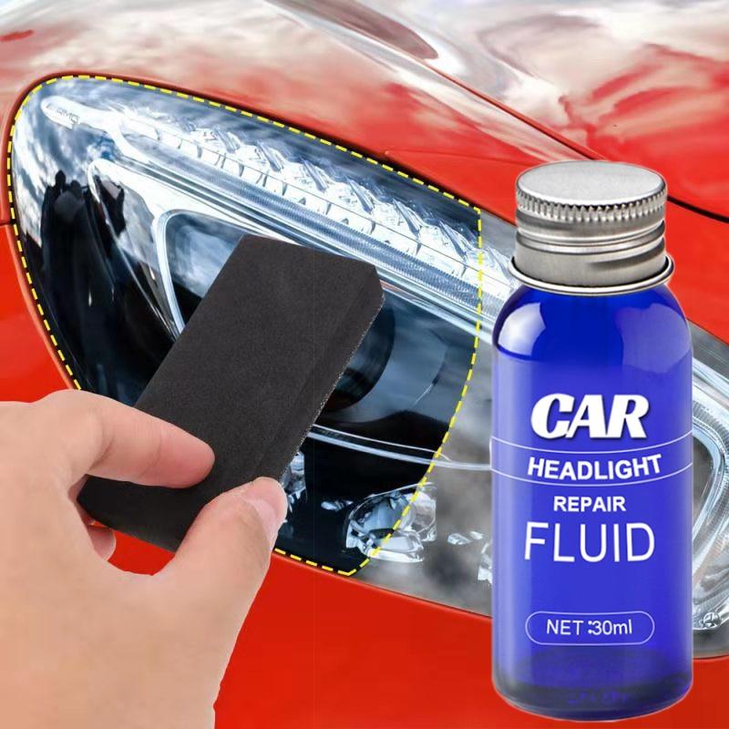 Car Headlight Repair Liquid Headlight Polishing Anti-scratch And Maintenance Liquid Kit Rearview Mirror Coating Restoration Wash