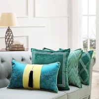home decorative sofa throw pillows model room sofa hug pillowcase furniture store showroom cloth decoration cushion cover