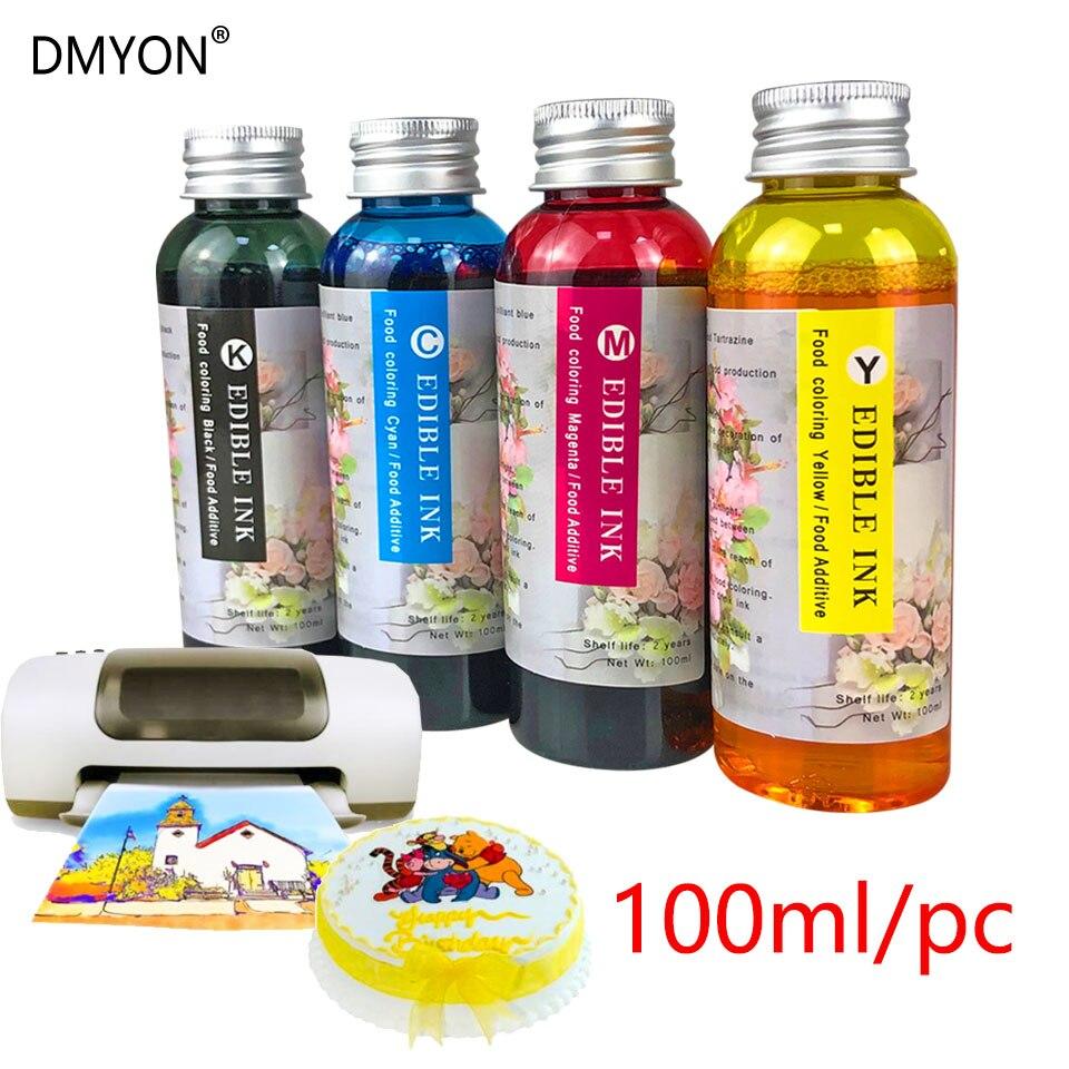 DMYON 16 1631 1632 1633 1634 Food Edible Ink Compatible for Epson Workforce WF-2010W WF-2510WF WF-2520NF WF-2530WF WF-2540WF