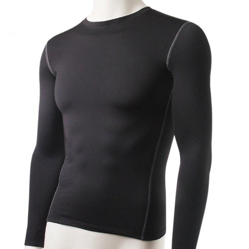 Ropa interior térmica de manga larga ajustada para hombre de invierno de nueva moda