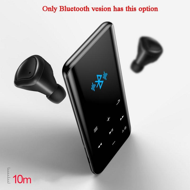 Vandlion X5 lossless MP4 Music Player HIFI Sports Walkman FM Radio E-book Stopwatch Video Built-in Speaker MP 3 4 Audio Recorder enlarge