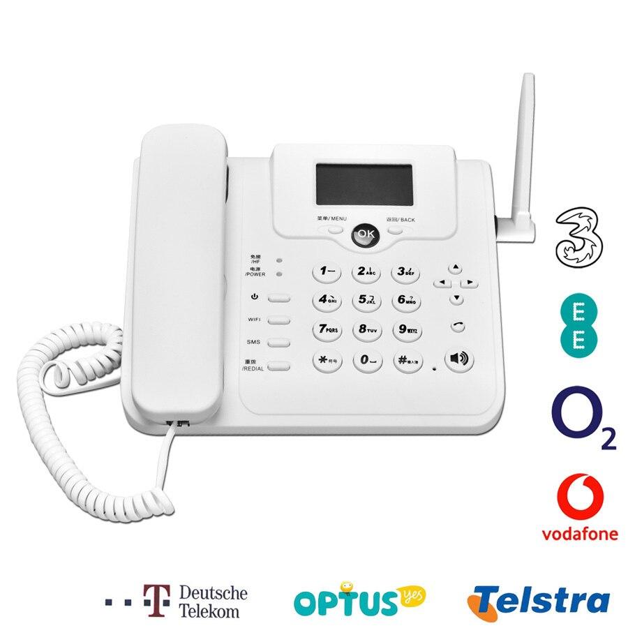 DONG ZHEN HUA W101W CDMA 3G GSM Voice Call 4G Modem VoLTE Router Wireless Fixed Telephone Landline Mobile Wifi Hotspot For Home
