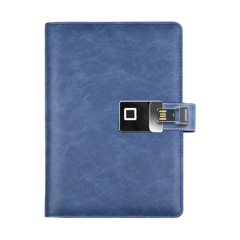 A5 Smart Fingerprint Unlock Charging Laptop with U Disk Business Multifunction Notepad