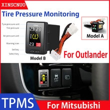 Car Electronics OBD TPMS For Mitsubishi Outlander 2013-2018 tyre pressure monitor security alarm sys