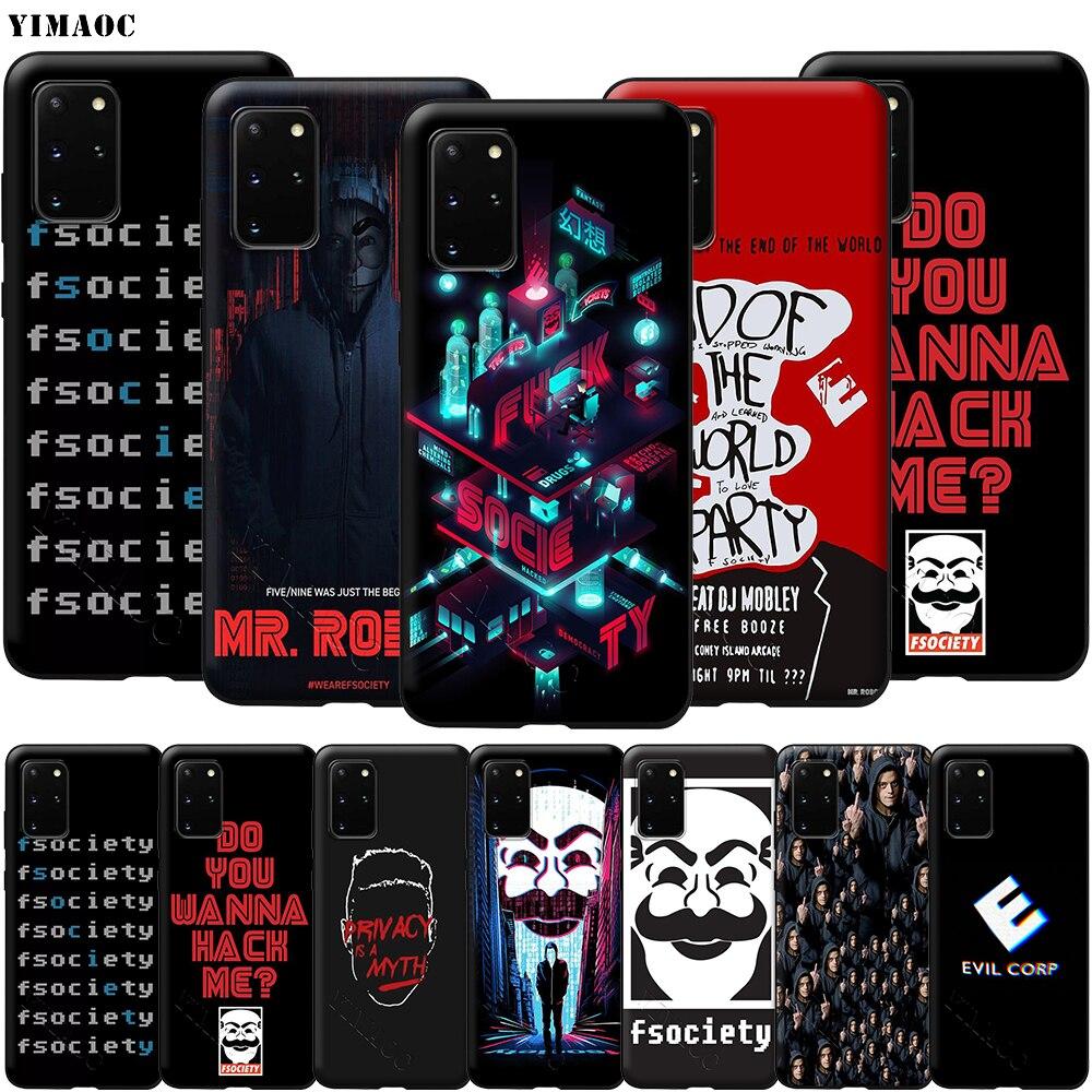 Мягкий силиконовый чехол YIMAOC Mr для Samsung Galaxy S6 S7 S10e Edge S8 S9 Plus A3 A5 A6 A7 A8 A9 J6 Note 8 9