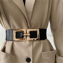 Retro Stretch Belt Women's Slimming Versatile Fashion Decorative Suit Shirt Dress Outer Wear Elastic