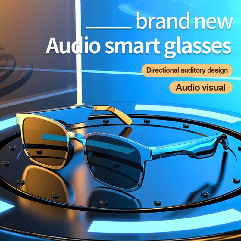 Fashion Sports Stereo Wireless Bluetooth 5.0 Waterproof Headset Telephone Polarized Driving Sunglass