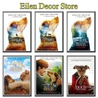 A Dogs Way Home Film affiche decorative peinture affiche papier peint mode classique Film Art imprime pour maison   cuisine 42X30cm