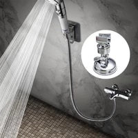adjustable shower holder universal stable hand rack bracket wall mounted suction cup shower holder for bathroom accessory