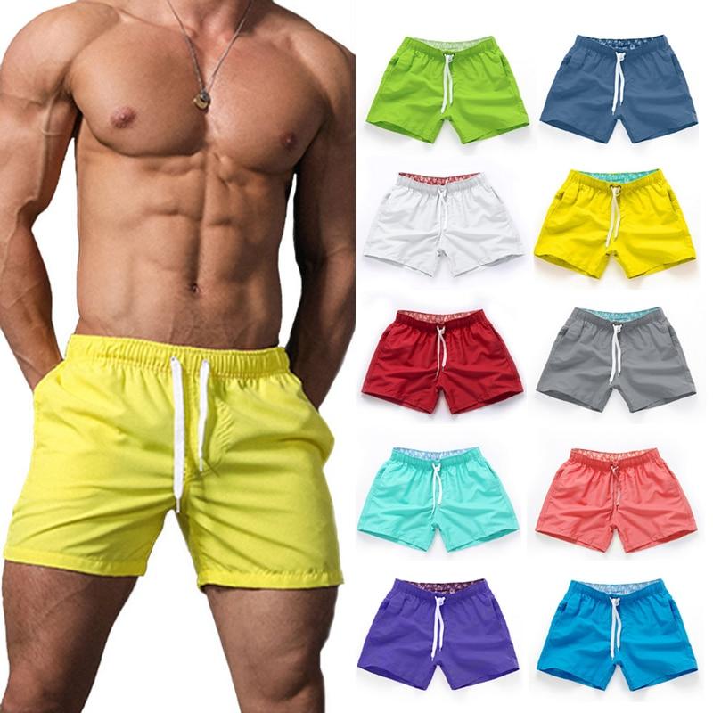 Пляжные брюки, мужские шорты, летние штаны для серфинга, мужские пляжные брюки, однотонные европейские и американские пляжные брюки, мужски... orlebar brown пляжные брюки и шорты