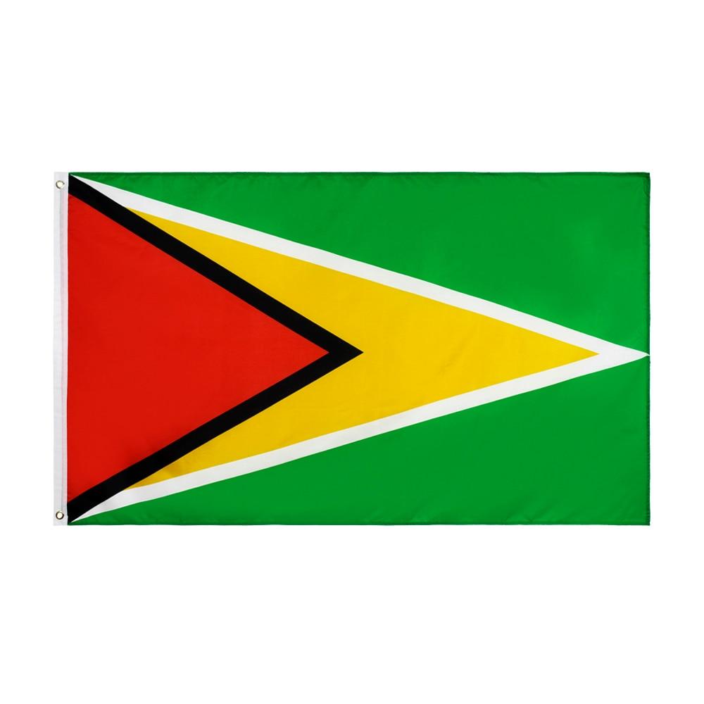 Xiangying x 90x150cm tipo GY de la República Cooperativa de bandera de Guyana