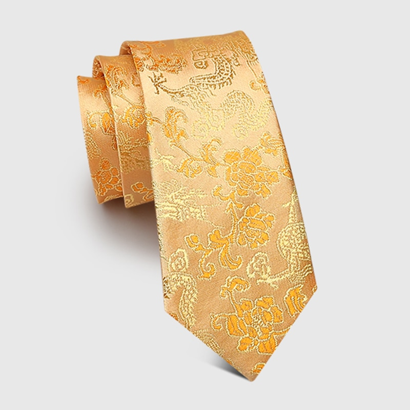 New Design Groom Wedding Tie Red jacquard 7CM Silk Ties For Men Business Suit Work Necktie Men Fashion Party Engagement Neck Tie