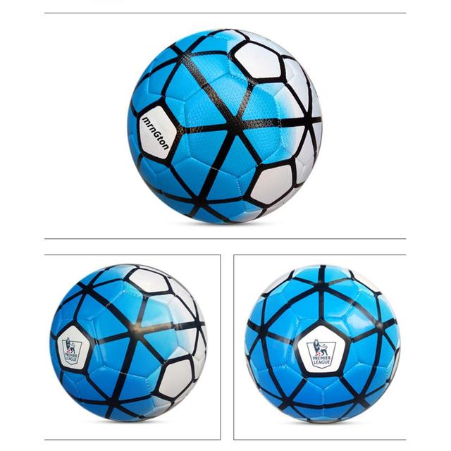 Professional Size 5 Football Premier Pu Seamless Soccer Ball Goal Team Match Training Balls League Futbol Bola Kids Adult Gift Soccers Aliexpress