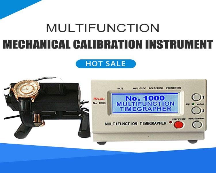 No.1000 ساعة توقيت اختبار الميكانيكية ساعة توقيت آلة معايرة أدوات إصلاح الولايات المتحدة/الاتحاد الأوروبي التوصيل 110-220 فولت