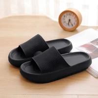 unisex women thick platform slippers summer beach soft sole slide sandals leisure men ladies indoor bathroom anti slip shoes