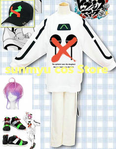 HypnosisMic Division Rap Battle DRB RAMUDA AMEMURA  easy R Clothes Cosplay Costume Halloween Wholesale