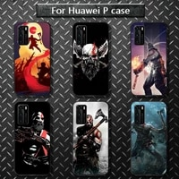 god of war personalised phone case for huawei p40 pro lite p8 p9 p10 p20 p30 psmart 2019 2017 2018