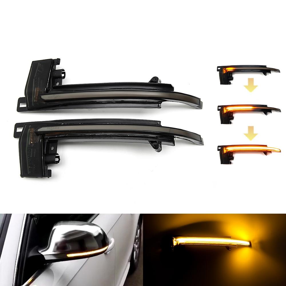Для Audi A4 A5 B8 S4 S5 Q3 SQ3 A3 8P A6 C6 4F S6 A8 D3 8K светодиодный индикатор динамического сигнала поворота мигалка последовательный боковой зеркальный индикатор светильник