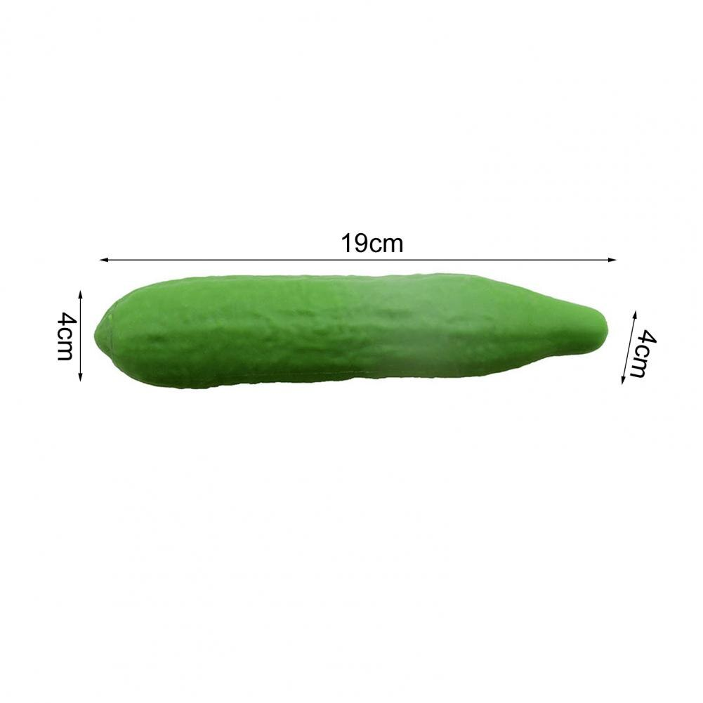 New Fidget Toys Elastic Tension Soft Rubber Cucumber Lovely Anti-Anxiety Realistic Cucumber Sensory Toy Children Kid gift pop it enlarge