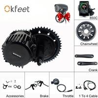 Bafang BBSHD 48V 1000W 68mm Mid Crank Drive Motor Kits 850C C965 SW102 Lcd Display Geared Motor Kit Eletric Bicycle Ebike Kits