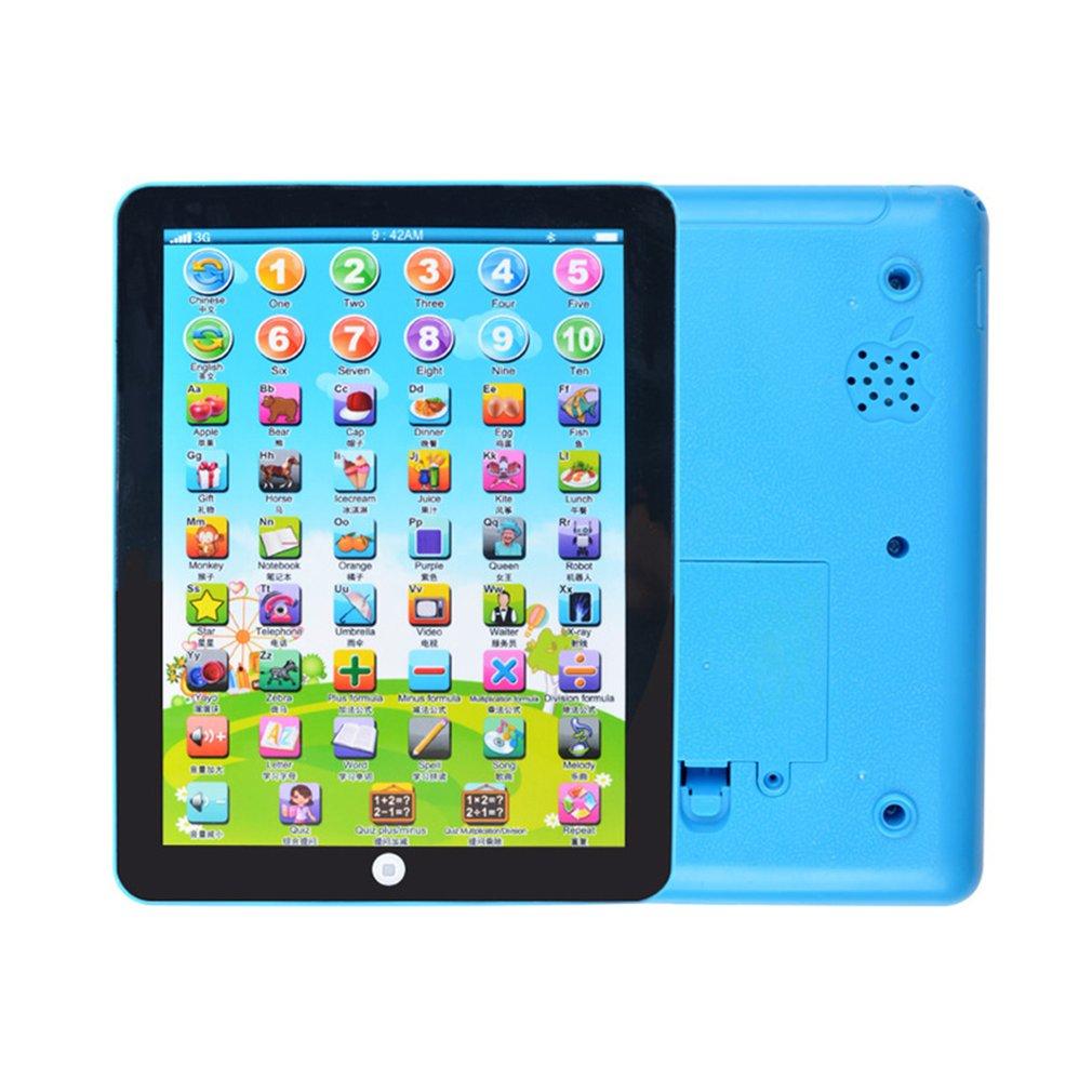 Aprendizaje de la primera infancia máquina de inglés aprendizaje por ordenador máquina de educación Tablet juguete regalo para chico que aprende el idioma