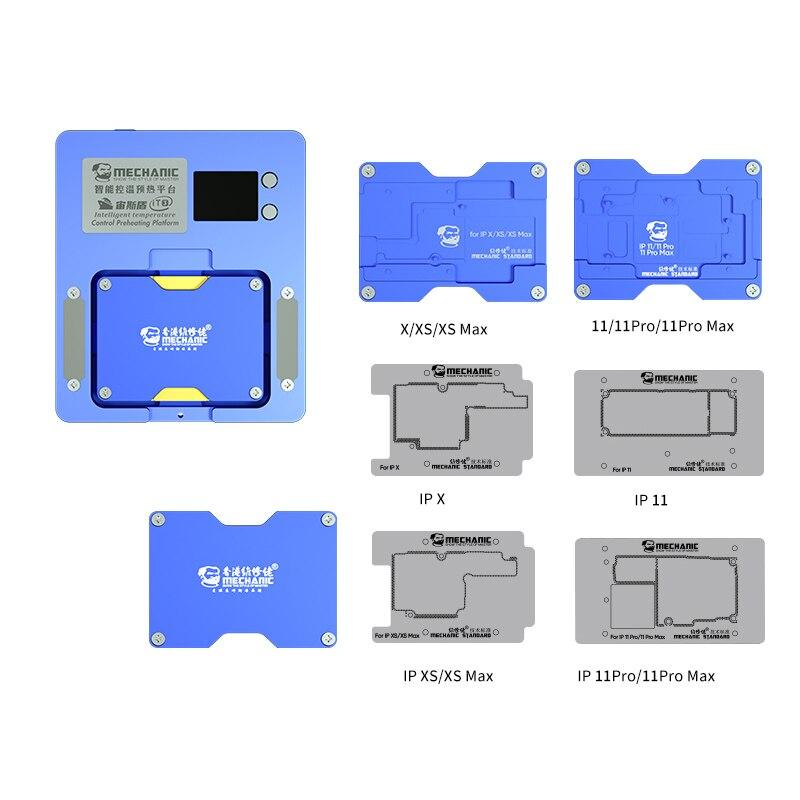 Наборы инструментов для механика iT3 контроль температуры Preheat платформа для X -12ProMax материнская плата клей удаление для iphone ремонт использования