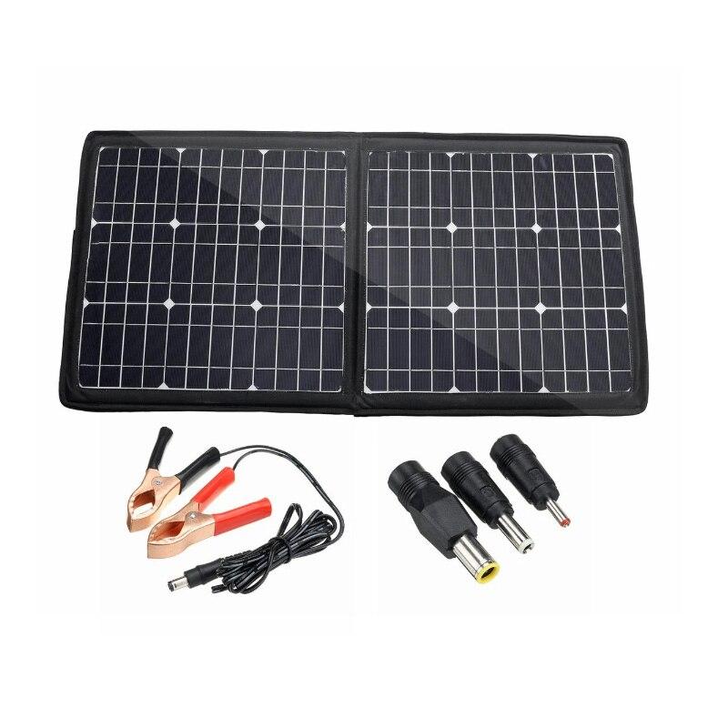100 واط 50 واط طوي المزدوج USB لوحة طاقة شمسية مقاوم للماء الشمسية تهمة الهاتف المحمول 18 فولت 5 فولت في الهواء الطلق لوحة طاقة شمسية s للتخييم/قوار...