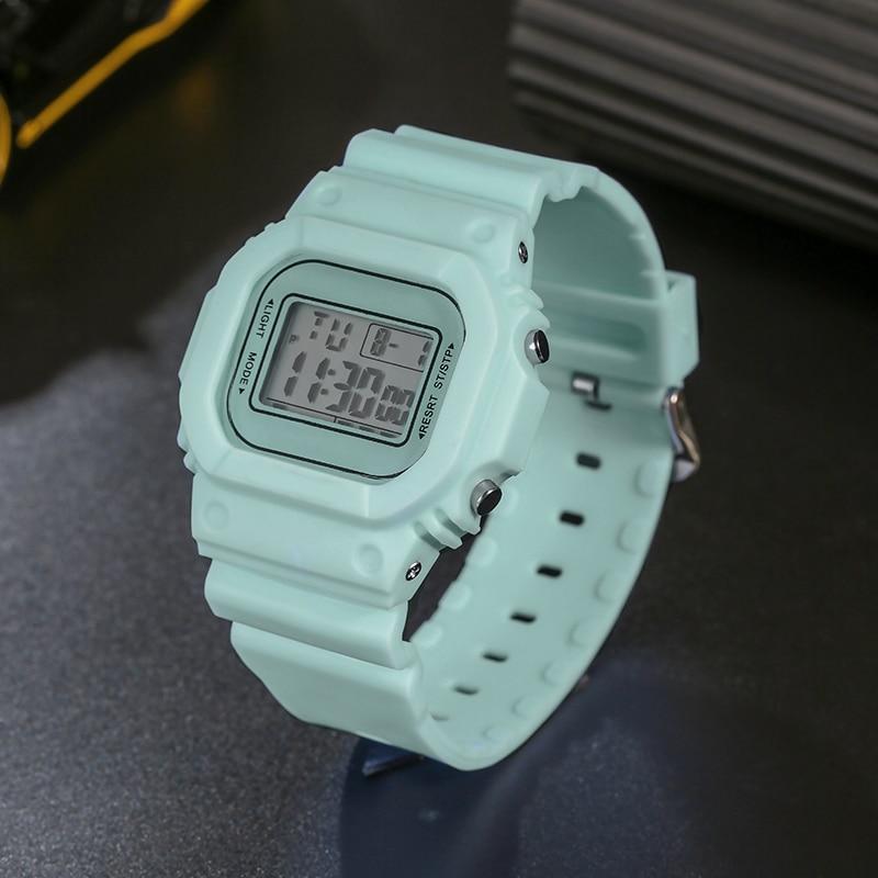 Children's Watch Digital Alarm Wristwatch Teen Waterproof Stopwatch Sports  Student  Fashion Casual