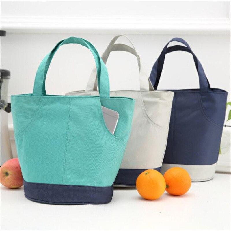 Сумка для пикника для всей семьи, Термосумка для бенто, для школы и офиса, для путешествий, органайзер для фруктов еды