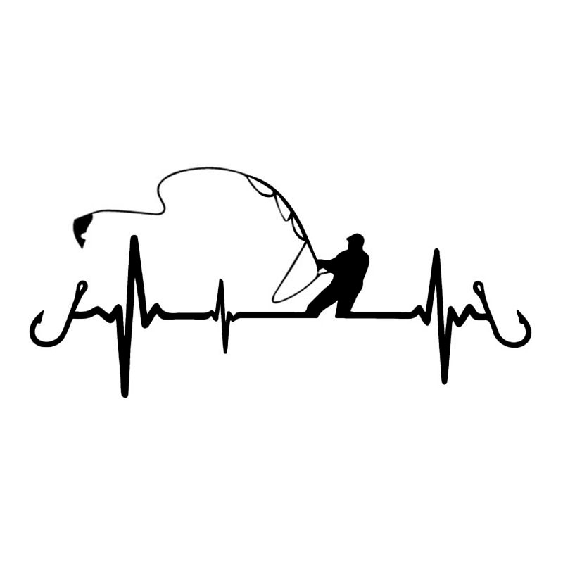 funny cheetah face decal car styling sticker motorcycle decal pvc motorcycle car decal sticker black white 20cm 13cm Car Sticker Heartbeat  Fishing  Styling Funny Decorative Sticker   Motorcycle Car Styling PVC Decal,17CM*8CM