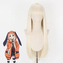 2019 Anime Kakegurui joueur compulsif 2 Cosplay perruques Yomoduki Runa Cosplay perruques résistant à la chaleur synthétique perruque Halloween fête