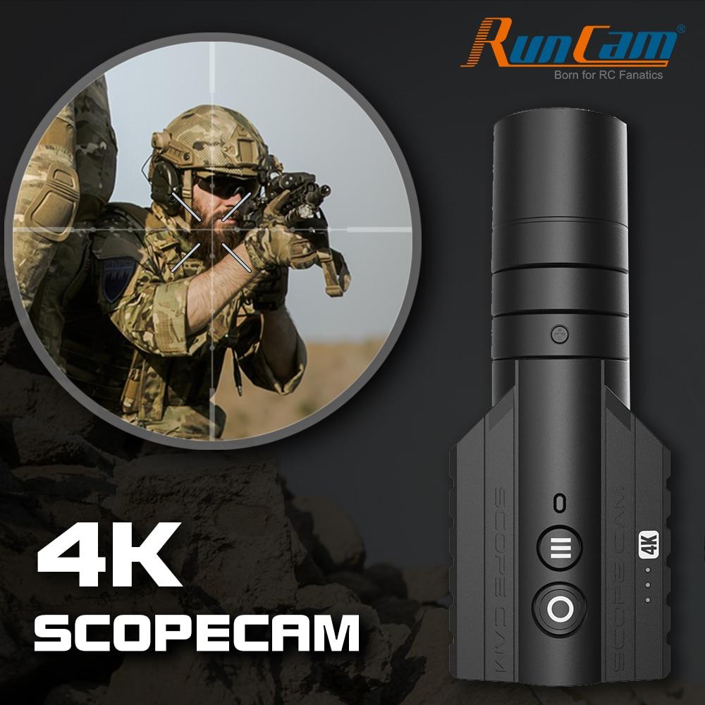 RunCam Scope Cam 4K Airsoft 1080P120fps Ultra HD Recording Built-in WiFi 850mAh ScopeCam Hunting Action camera