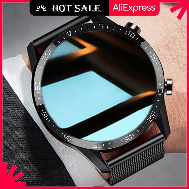 Ipbzhe-Reloj Inteligente deportivo para hombre, Smartwatch con llamadas, Bluetooth, Android 2021, ECG,...