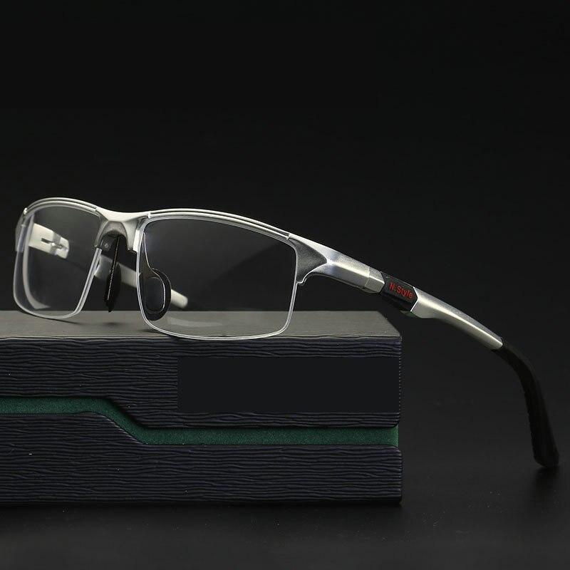 Алюминиево-магниевые спортивные стильные прогрессивные очки для чтения, очки для коммерческих дел