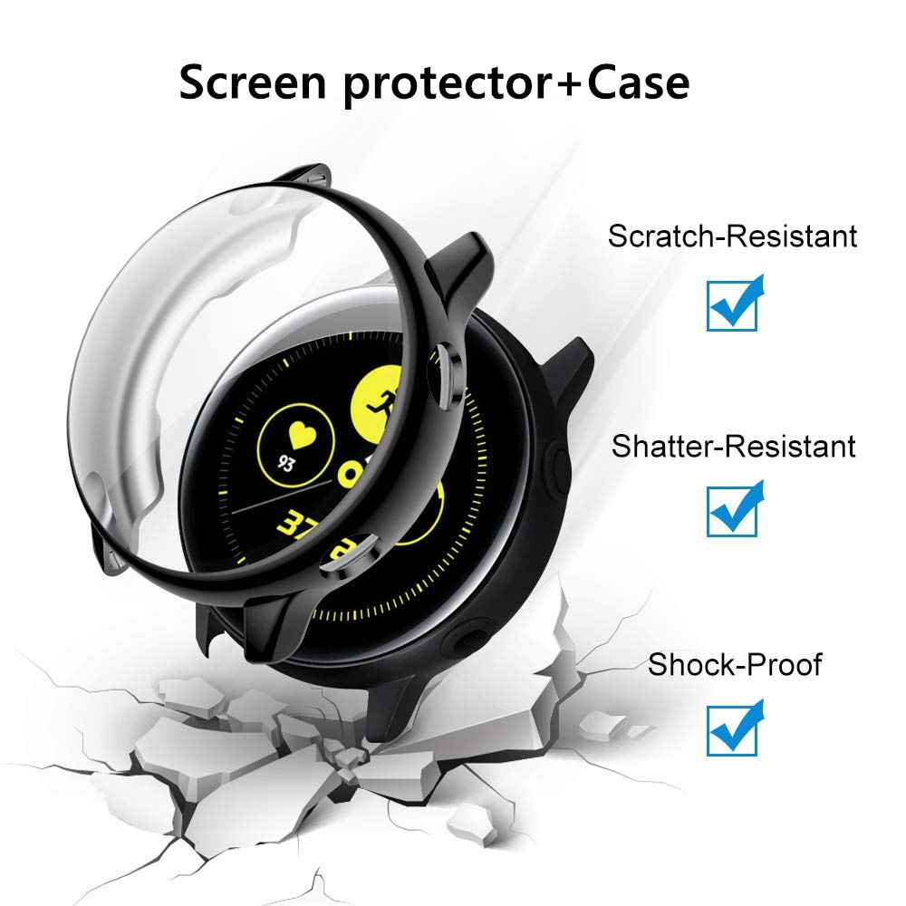 Funda de reloj para Samsung Galaxy Watch active 2, Protector de pantalla...