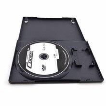 CD DVD disk plastik kasa kapasiteli disk CD saklama kutusu için PS2
