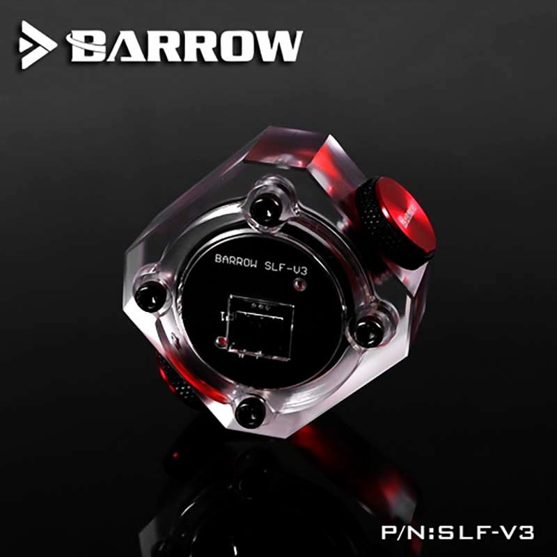 Barrow SLF-V3 PC water cooling Flow meter Electronic data version for water cooler system G1/4 connector