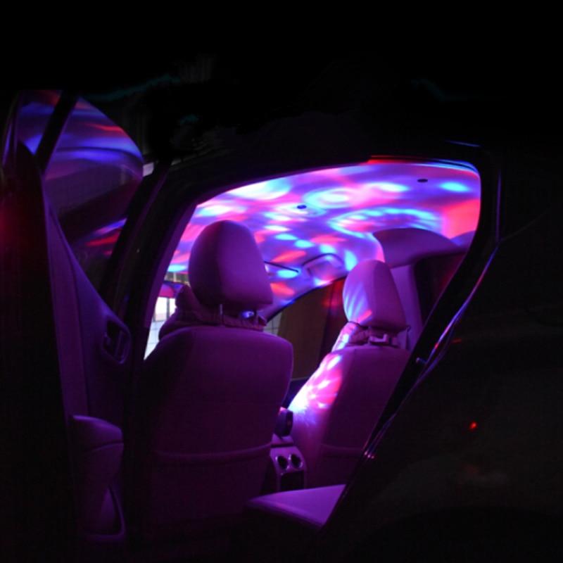 Lámpara Led para coche, luz ambiental USB para Lexus gx460 rx gs300 gx470 rx300 is is250 Land Rover lr2 freelander 2 sport 1322