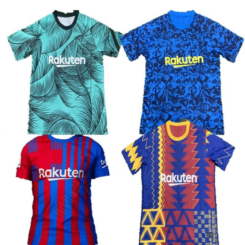 ¿Formación de calidad superior 2021 21 -22 MESSI BarcelonaES camisa SUAREZ? DEMBELE...