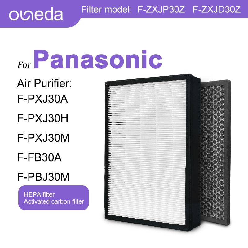 for Panasonic Air Purifier F-PXJ30A F-PXJ30H F-PXJ30M F-FB30A F-PBJ30M HEPA Filter F-ZXJP30Z Carbon Filter F-ZXJD30Z Filter Air f