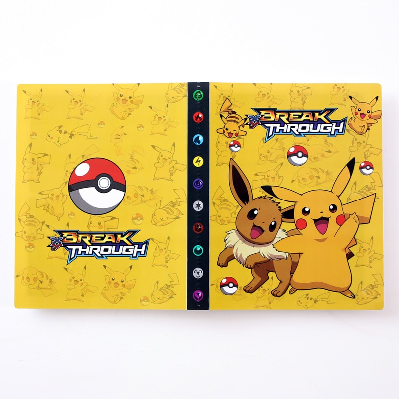 album pokemon para criancas livro de desenho animado anime charizard pasta de cartas