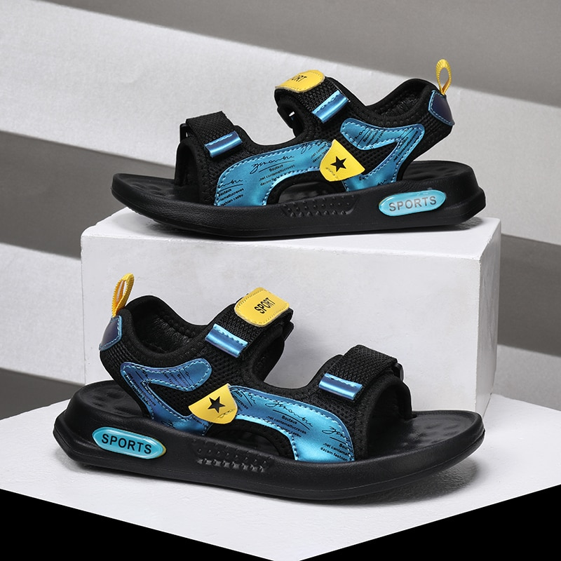 Summer Boys INS Trendy Casual Sandals, New Boys Outdoor Beach Shoes Sandals