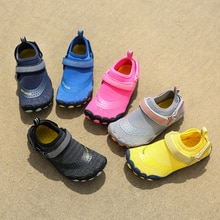 Children Quick-Dry Water Shoes Breathable Wading Shoes Upstream Non Slip Outdoor Sports Wearproof Be