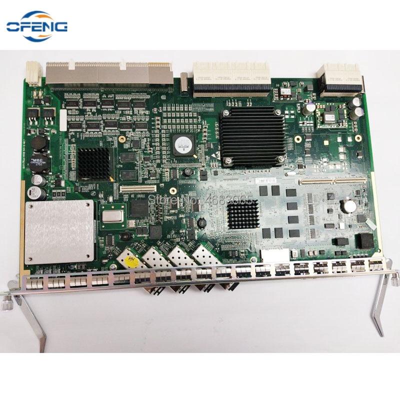 ZTE SCXN التحكم والإرسال المتكاملة مجلس مع 4 منافذ sfp وحدة ، ل ZTE OLT C300