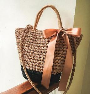 Bohemian Style Women Shoulder Bags Straw Beach Bag Female Summer Hand Bag Ladies