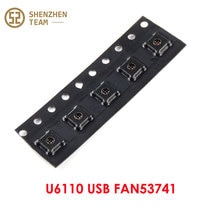 SZteam 5pcs/lot new original U6110 USB FAN53741 ACCESSORY BUCK ic for iphone X 8 8plus