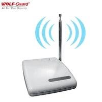 Wolf-Guard     repeteur de Signal sans fil  systeme dalarme de securite domestique facile a utiliser  panneau capteur 433MHZ  extension de portee 1000M
