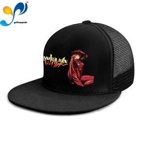 Men's Baseball Cap Women Hip Hop cap Genesis Evangelion Logo Casquette Quick Dry Breathable Men Hat Bone Trucker Cap