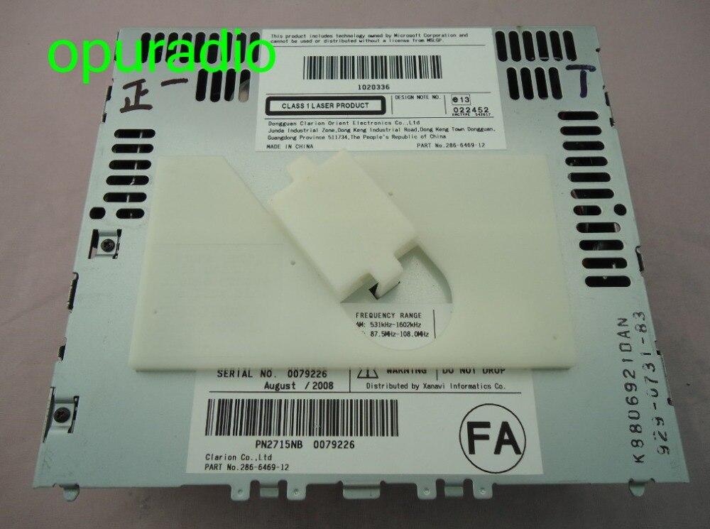 Clarion 6-Disc CD changer mechanism with MP3 for Infiniti G35 Nissan navara car radio PN-2715N PN-2958N