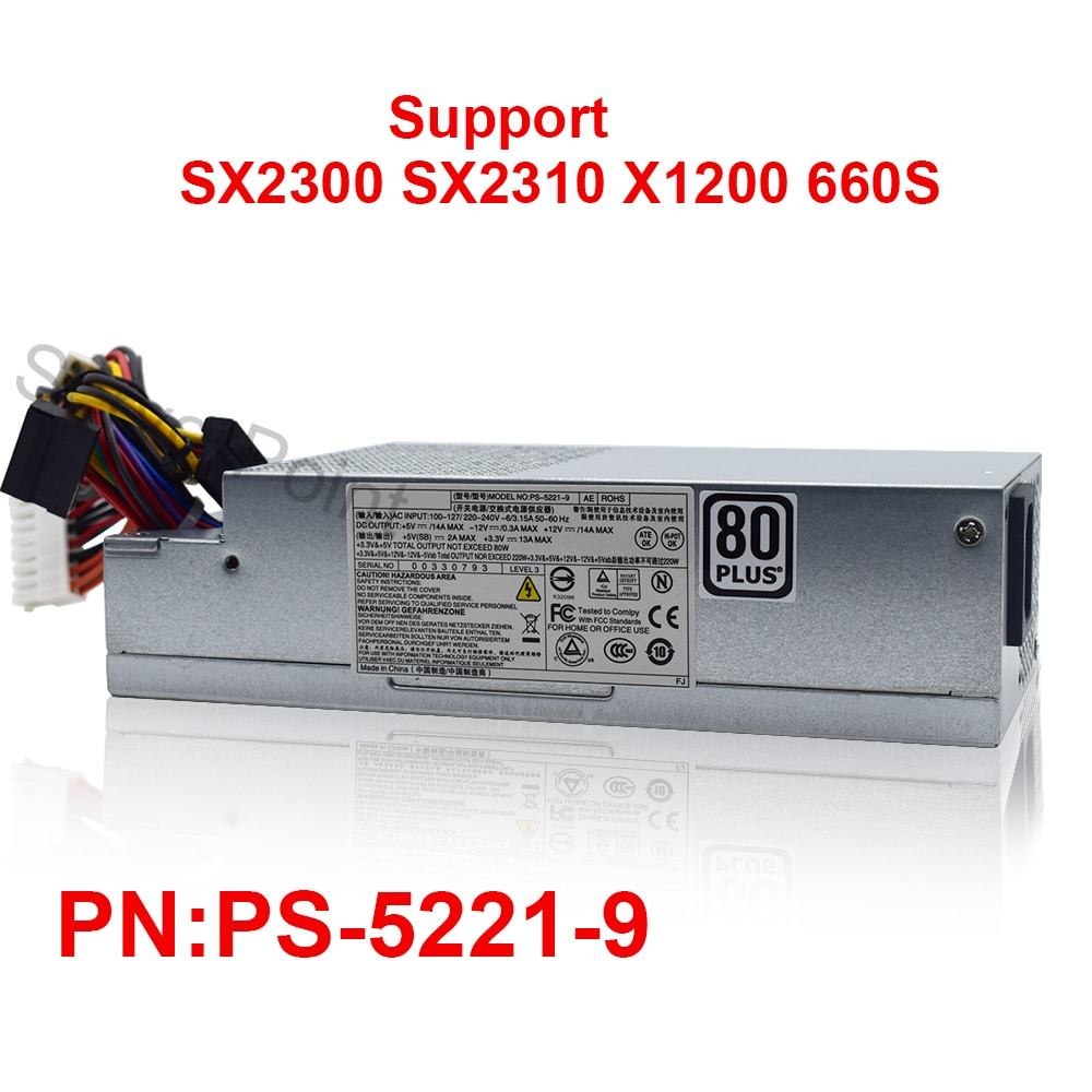 DPS-220UB-1 A dps-220ub-1 3a 4a 5a l220as-00 Itx PS-5221-09 PS-5221-16 HU220NS-00 L220AS-00 220W PSU تحويل التيار جيدا